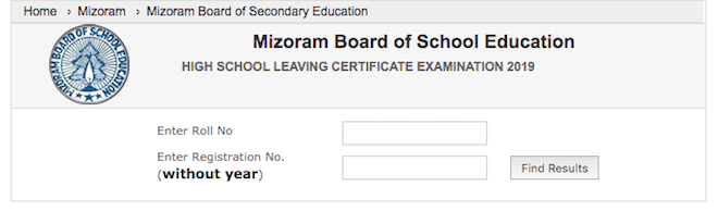 Mizoram board publishes MBSE HSLC result 2020 name wise for the students at India results website.