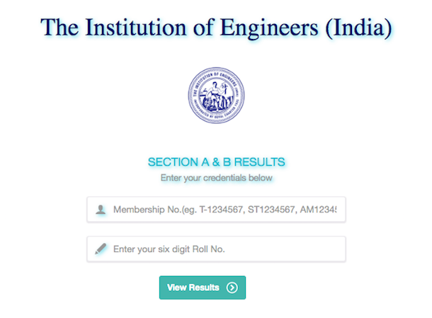 IE India AMIE section B Result 2019