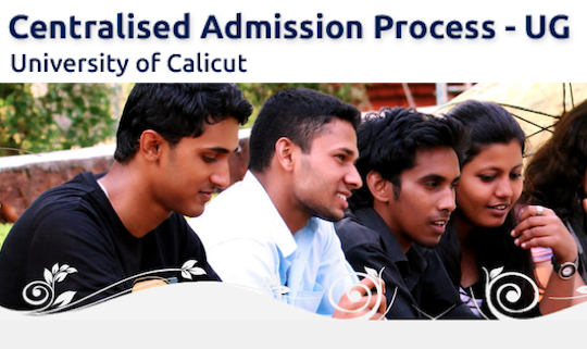Calicut university allotment 2020 UG admission